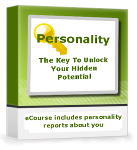 Personality- Key to unlock your potential