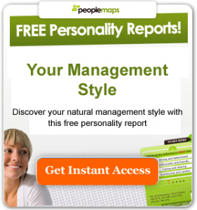 free personality test - Your management style