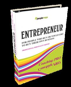 entrepreneur personality report