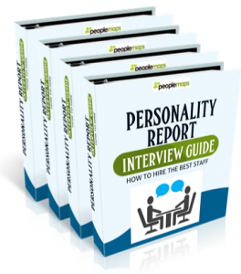 Recruitment personality testing
