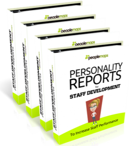 personality reports for staff development