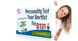 Personality test your shortlist