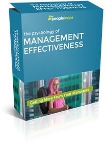 PSYCHOLOGY OF MANAGEMENT EFFECTIVENESS