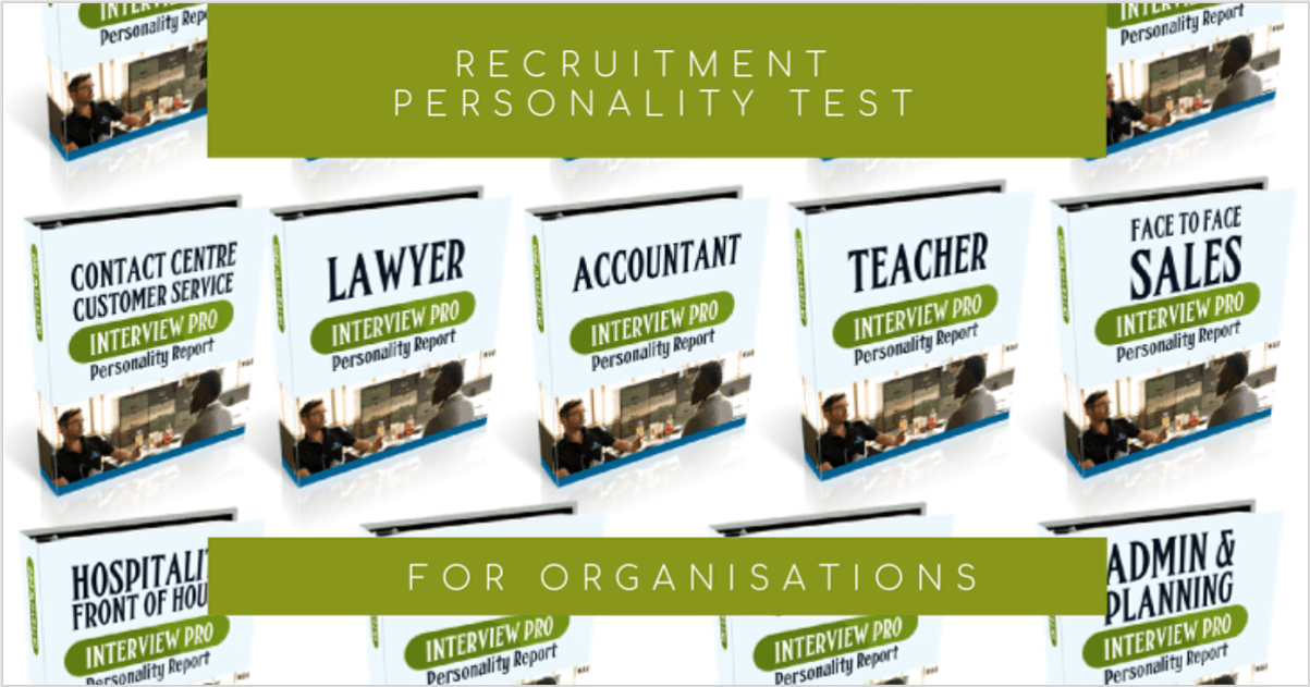 Interview Pro for Personality Testing in Recruitment
