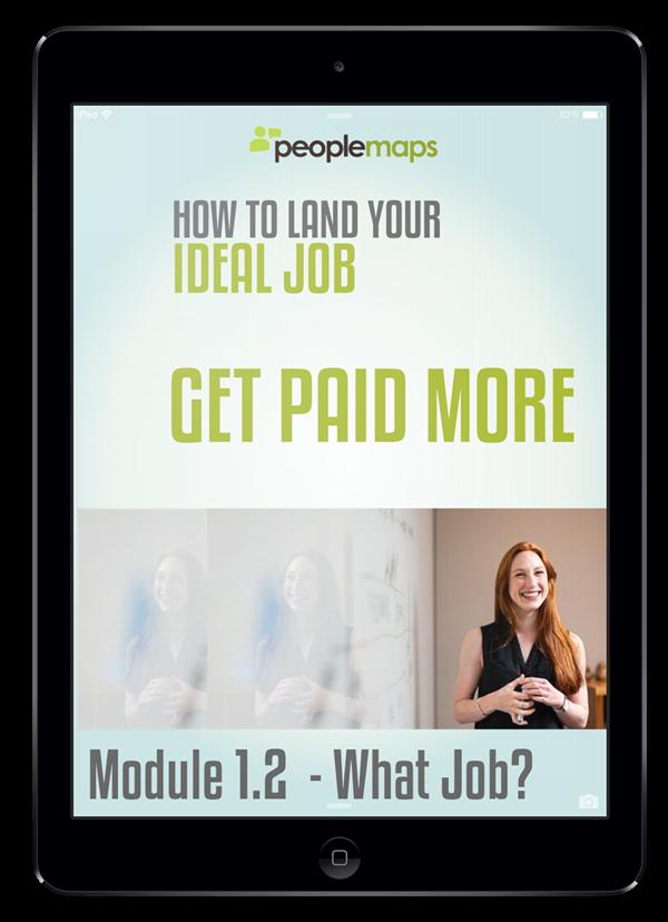 module 1.2 what job