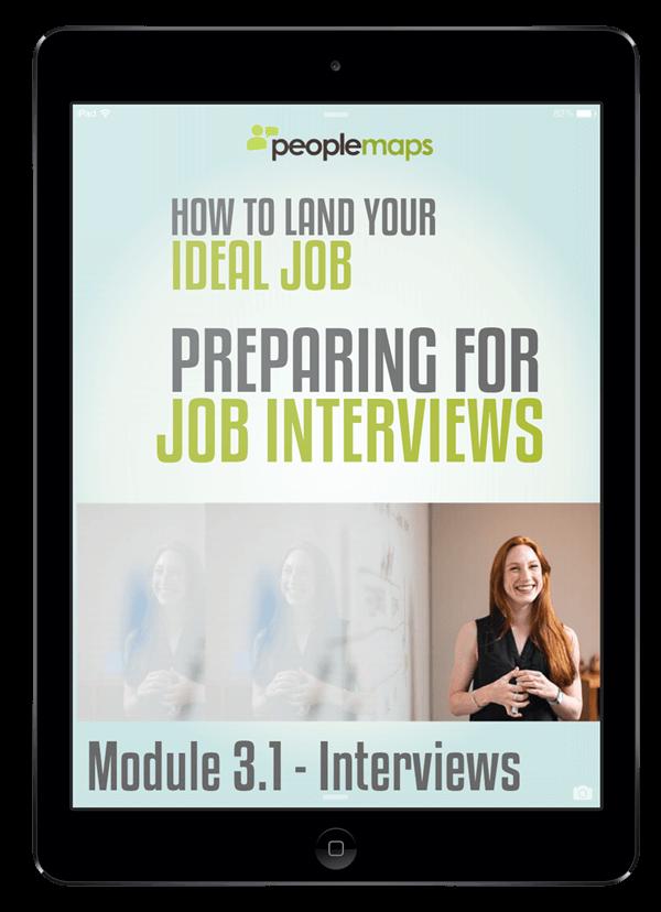 module 3.1 preparing for interviews