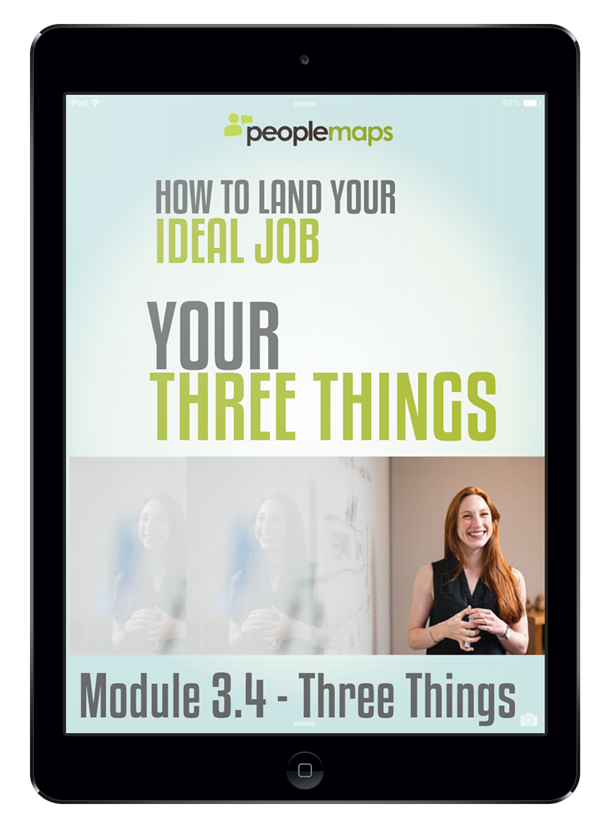 module 3.4 three things