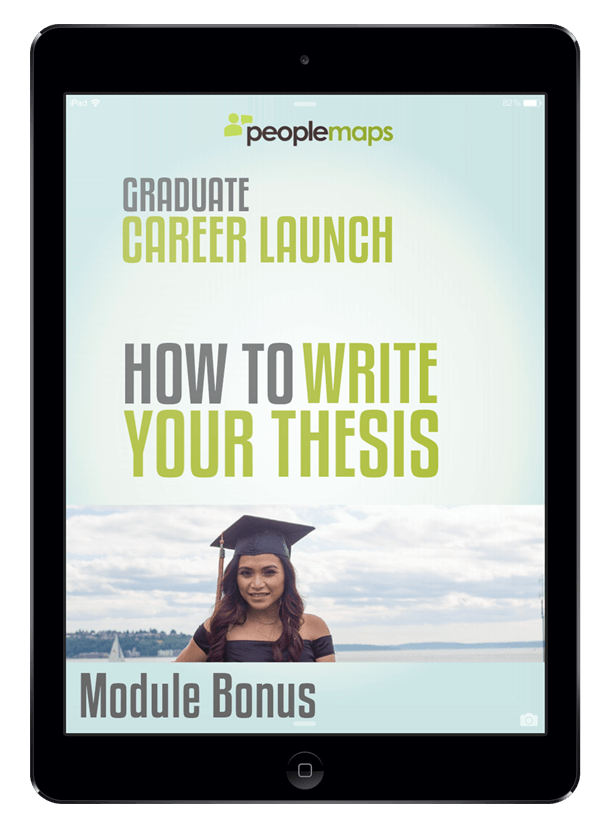 write thesis
