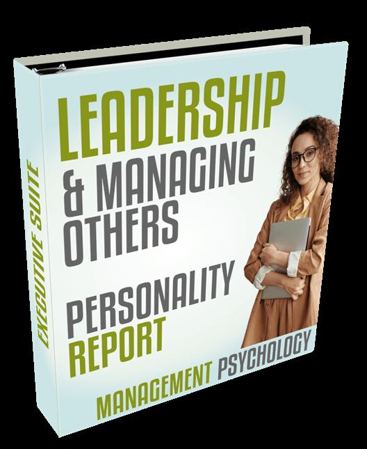 leadership personality report