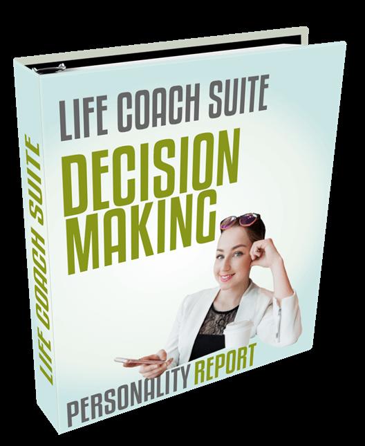 life coach suite - decision making