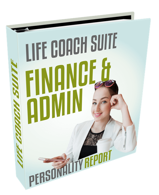 life coach suite - finance and admin