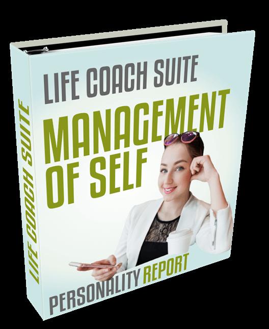 life coach suite - management of self
