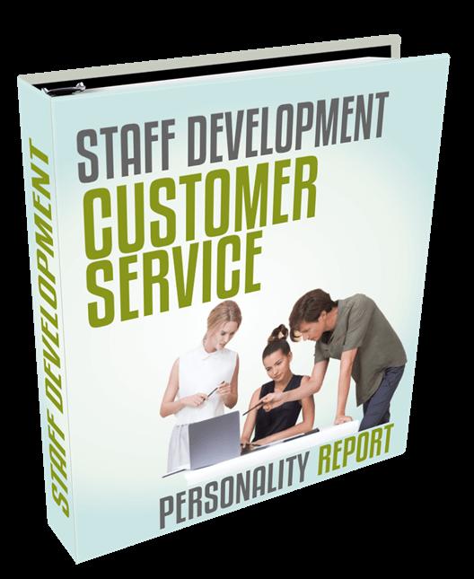 staff dev suite - customer service