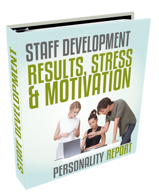 staff dev suite - results stress and motivation